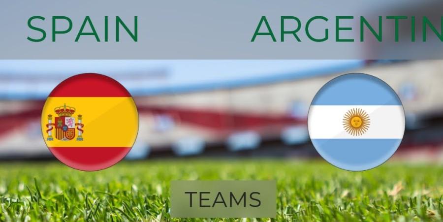 विश्वकप फुटबलमा आज अर्जेन्टिना र स्पेनको निर्णायक खेल हुँदै