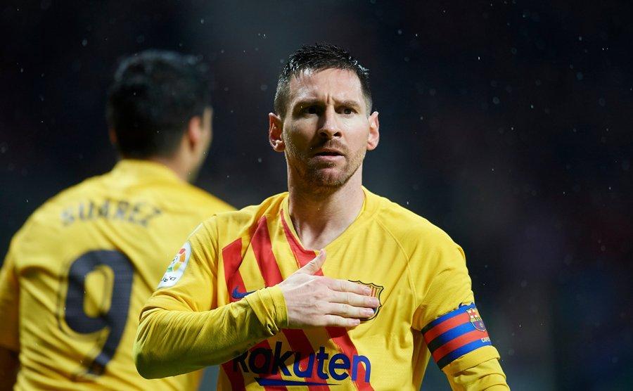 बार्सिलोनाले एथ्लेटिको मड्रिडलाई उसकै घरमा हरायो : मेस्सी बने हिरो !