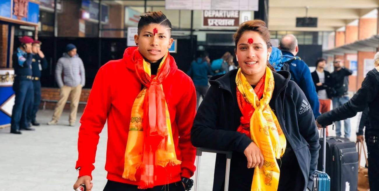 साम्बा र अनिता भारतीय लिग खेल्न लागे : यसपटक क्लब अलग–अलग