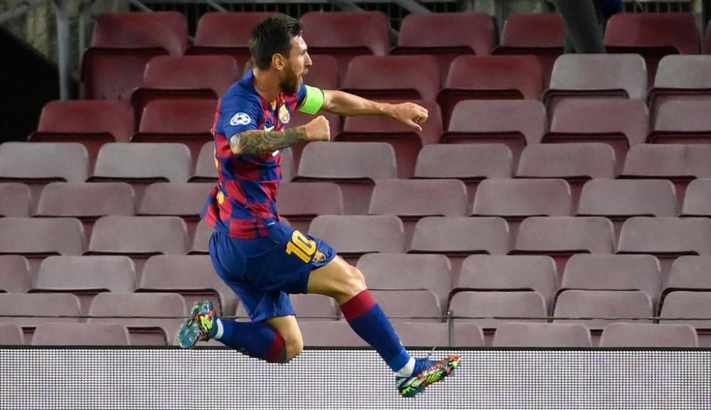 बार्सिलोना भर्सेस नापोली : नाटकीय पहिलो हाफमा बार्सिलोना ३–१ ले अघि !