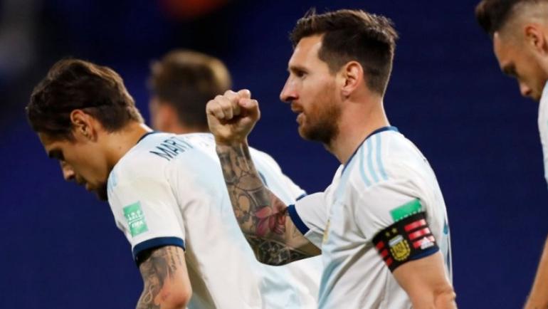 विश्वकप छनौटमा अर्जेन्टिनाको सुखद् सुरुआत : इक्वेडरलाई हरायो