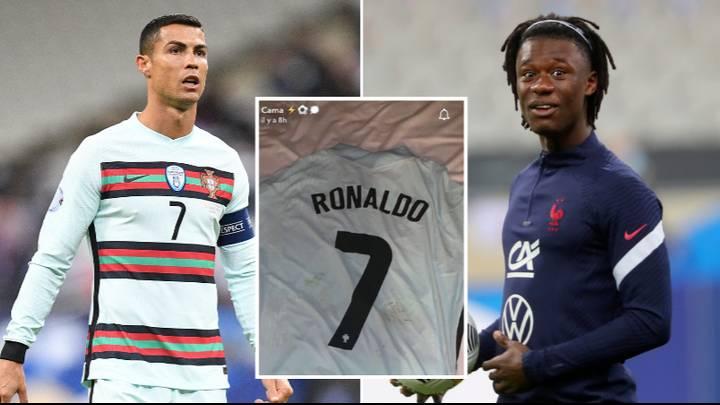 फ्रान्सका युवा खेलाडी भन्छन्– 'रोनाल्डोले दिएको जर्सी धुनेछैन'