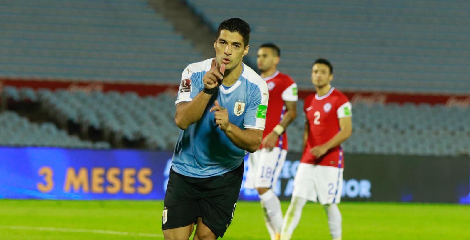 कतार विश्वकप छनौट : चिलीलाई हराउँदै उरुग्वेको सुखद् सुरुआत
